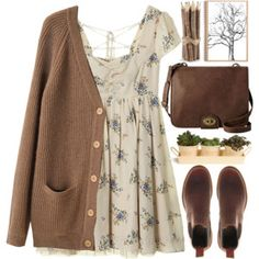 Love the outfit except I'd wear brown combat boots instead