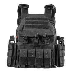 <span>Description </span> <p> <span>The  <strong>Modular Rapid Assault Tactical Vest  </strong> </span> <span>is a combat ready plate carrier designed for the best outcome in all types of tactical situations. Modular, Low Profile and feature packed. The vest includes 4 front mag pouches and 2 side pouches. It also carries a full body MOLLE system for you to add on other essentials. This vest made of 1000D nylon with multiple patch panels Tactical Backpack, Tactical Gear, World Of Warcraft, Black Tactical Vest, Camouflage, Plate Carrier Vest, Hunting Vest, Outdoor Vest, Molle System