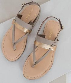 c18178643b6 Spring Summer sandals with beautiful gold detail