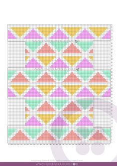 Crochet Toiletry Bag – Tapestry CUBE Pattern & Tutorial – - Rebel Without Applause Diy Crochet Patterns, Tapestry Crochet Patterns, Crochet Fabric, Crochet Diagram, Crochet Chart, Crochet Designs, Crochet Projects, Crochet Stitches, Tutorial Crochet