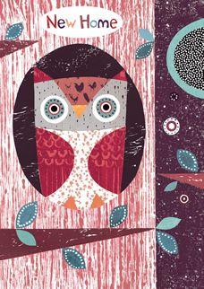 Owls New Home by Simon Hart on lovehart.co.uk