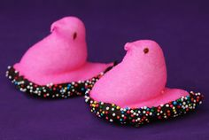 More Peeps and chocolate