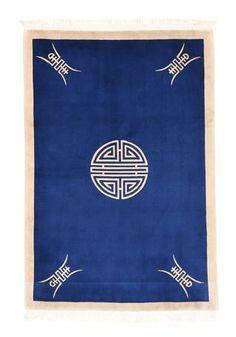 Kiina antiikki Peking-matto 140x200