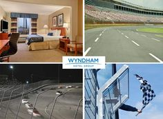 $199 for 2-Days/1-Night Hotel Stay & 2 Entry Level Tickets to Any NASCAR Event (Value $400)
