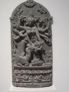 Mahishasura mardini, pala art, Rijksmuseum Amsterdam Aziatisch Kunst