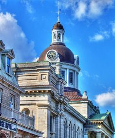 City Hall, Kingston Source by tomsargent Kingston Canada, Kingston City, Kingston Ontario, O Canada, Canada Travel, Canada Landscape, Queen's University, Beautiful Places, Neoclassical Architecture