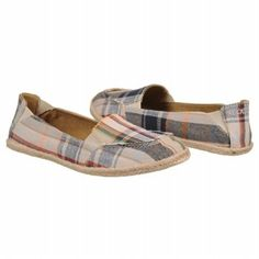 Women's Rocket Dog Clover Plaid Blue Pier Plad FamousFootwear.com