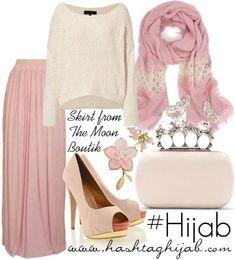 Hijab Fashion 2016/2017: Sélection de looks tendances spécial voilées Look Descreption Hijab Fashion 2016/2017: Hashtag Hijab Outfit #229 Hijab Fashion 201