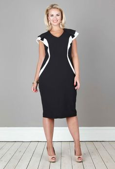 Anna Scholz - Tailoring Colourblock Dress