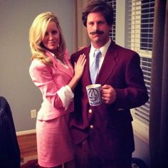 Anchorman Couples Costume