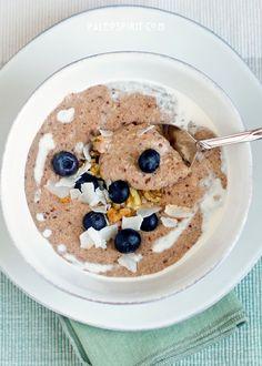 Paleo Breakfast Porridge - made this for breakfast this morning. Yummy!