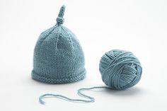 patron tricot bonnet bebe naissant