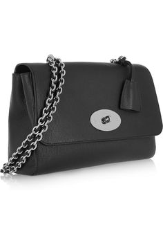 feb27777e4 Mulberry - Medium Lily textured-leather shoulder bag