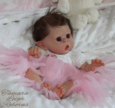 Mini Ofelia Olga Auer Fairy Elf Reborn Fantasy baby Tamara Leigh Reborns Tamara Auty