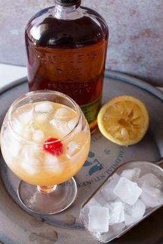Sparkling Whiskey Sour   cakenknife.com