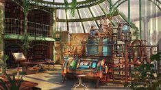 ArtStation - The Alchemist Laboratory , Kashuse Nuage