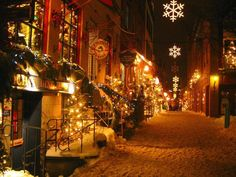 Christmas in Montreal.