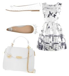 """""""Untitled #21"""" by meganwatkins2005 on Polyvore featuring Versace and Gioseppo"""