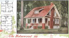 "Aladdin Kit Home, ""The Holmwood,"" 1920"