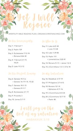Infertility Bible Reading Plan For Women   Infertility Bible Verses   Infertility Quotes   Infertility Inspiration   Topical Bible Study   Bible Study Lessons   Bible Studies for Beginners