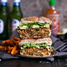 Vegan Sweet Potato Burgers   foodgawker » Vegan   Bloglovin