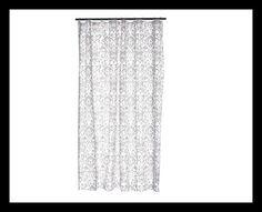 Damask Shower Curtain Damask, Curtains, Shower, Bathroom, Home Decor, Rain Shower Heads, Washroom, Blinds, Decoration Home