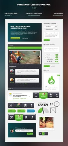 Impressionist UI – User Interface Pack