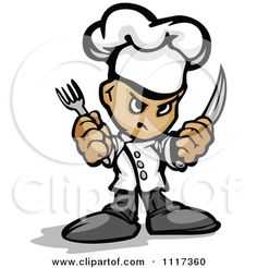 Google Afbeeldingen resultaat voor http://images.clipartof.com/small/1117360-Cartoon-Of-A-Tough-Male-Chef-Guy-Holding-A-Knife-And-Fork-Royalty-Free-Vector-Clipart-Of-A.jpg