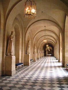 A hallway in Versaille