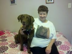 Minnie with one of her fans.  check out the picture of Minnie on the shirt