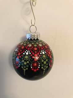 Fabric Christmas Ornaments, Christmas Gifts To Make, Christmas Rock, Whimsical Christmas, Painted Ornaments, Christmas Balls, Christmas Crafts, Christmas Decorations, Christmas Items