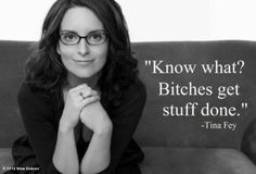 Nina Dobrev's photo: Picture Quote of the day.. Tina's never wrong.