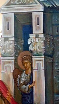 Byzantine Icons, Religious Icons, Orthodox Icons, Sacred Art, Fresco, Style Icons, Saints, Castle, Prayers