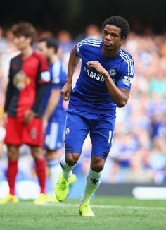 Loic Remy of Chelsea FC against Swansea City