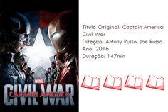 HQ e Filme - Capitão América, Guerra Civil