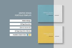 다음 @Behance 프로젝트 확인: \u201cGraphic Design Portfolio Template\u201d https://www.behance.net/gallery/36939713/Graphic-Design-Portfolio-Template