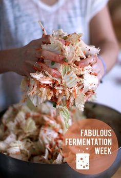 Fabulous Fermentation Week! ~ Kimchi