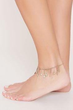 Ankle Jewelry, Body Jewelry, Jewellery, Fashion Accessories, Fashion Jewelry, Erin Wasson, Anklets, Geo, Barefoot
