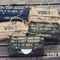 デニムリメイクのショルダーポーチとトートバッグ | KRM WORKS.の手作り日記