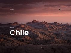 Crouise designed by Stugbear. Connect with them on Dribbble; the global community for designers and creative professionals. Web Layout, Layout Design, Patagonia, Desktop Design, Ui Animation, App Design Inspiration, Ui Web, User Interface Design, Photography Website