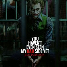 23 Joker quotes that will make you love him more rowdy girl Heath Ledger Joker Quotes, Best Joker Quotes, Epic Quotes, Dark Quotes, Badass Quotes, Wisdom Quotes, True Quotes, Motivational Quotes, Funny Quotes