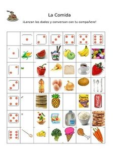 Students will love this activity! Great partner or small group speaking activity in the World Language Classroom. Ready to go for use in your next class. EASILY modified for French/Italian or any other language! Word document geared towards any language by editing under 5 words.
