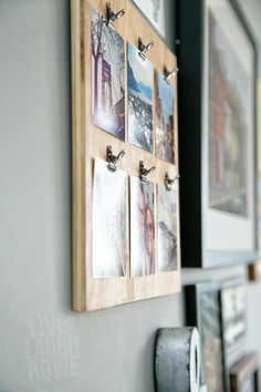 Plywood picture board