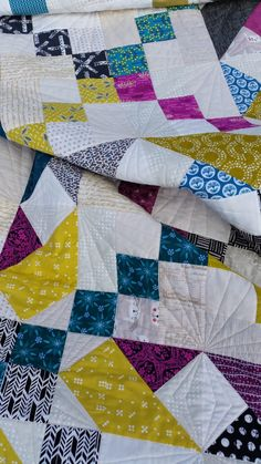 Elven Garden Quilts: Starjump Quilt Finish and Pattern Release!