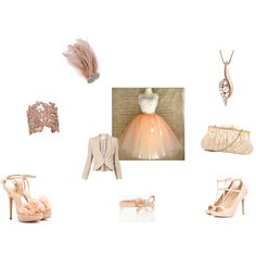 """""""Peach Perfect"""" by writergurl-1 on Polyvore"""