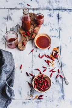 ... bird eye chili zesty hot sauce ...