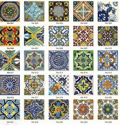 I want to have a kitchen or bathroom with Spanish Tiles on the walls as a back-splash some how