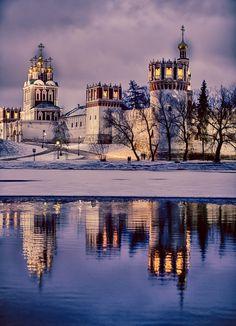 kuzya13673 — «вид на новодевичий монастырь . москва .» на Яндекс.Фотках