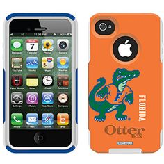 University of Florida - full Florida design on OtterBox® Commuter Series® Case for iPhone 4 / 4S in Blue