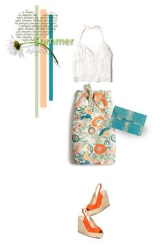 """""""Pretty Summer Florals"""" by youaresofashion ❤ liked on Polyvore featuring J.Crew, Hollister Co., Dorothy Perkins and Kayu"""